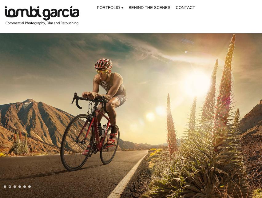 Iombi Garcia web (captura de pantalla)
