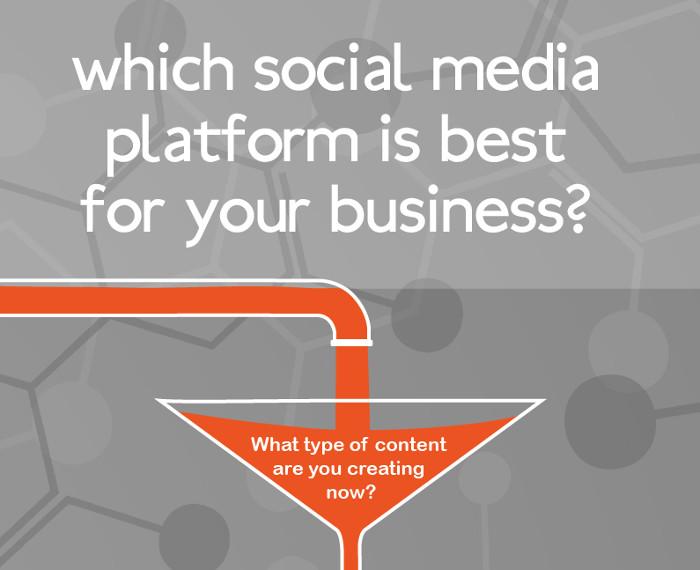 Seleccionar redes sociales. Empresas